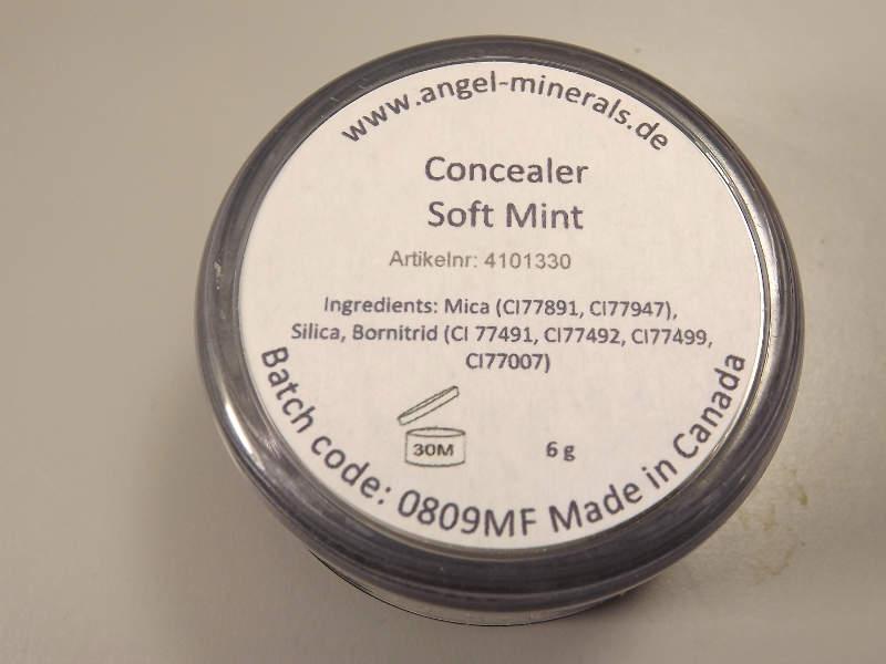 Grüner Concealer Soft Mint Angel Minerals