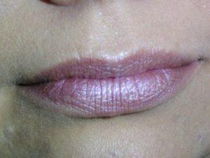 Lippen mit Orchid