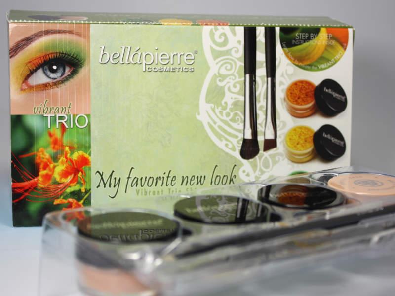 bellapierre cosmetics vibrant TRIO My favorite new look